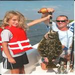 fun for the family, inshore fishing charter