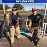 9 fish caught on fishing charter